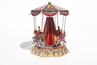 Sonstige Blechspielzeug Pferdekarussell Karussell Mit Pferden °° Made In Germany Analytisch