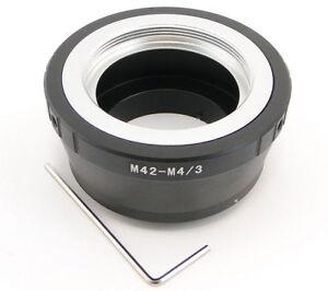 Top-Qualite-Adaptateur-de-lentille-M42-a-Micro-4-3-MFT-Mount-Appareil-Photo-Panasonic-Olympus