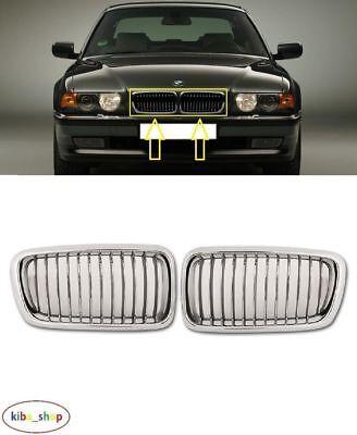 BMW 7 E38 1994-1998 nuevo rejillas De Radiador Superior Parachoques delantero izquierda derecha