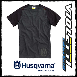 Progress T Enduro Husqvarna noir T Maillot Tee shirt Cross officiel shirt shirt 5PqEWHnRTw