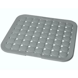 Neuf Kitchen Sink Mat Plat Egoutoir Tasse Verre Scratch Protecteur Anti Dérapante Clair UK
