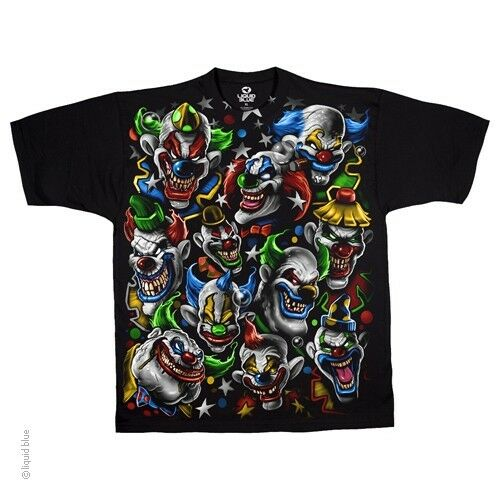 New NIGHTMARE CLOWNS T Shirt