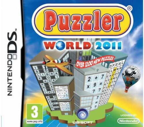 1 of 1 - NINTENDO DS – PUZZLER WORLD 2011 - MINT CONDITION