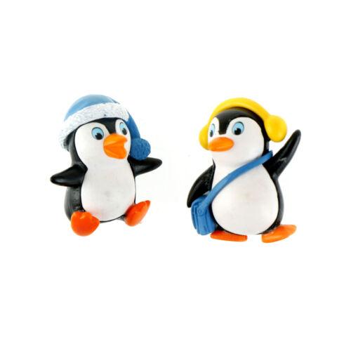 Winter Penguins Miniatures For Fairy Gardens Gnomes Moss Terrariums Decors Nice
