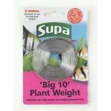 Supa ' groß 10' Aquarium Pflanze Gewicht 10ft LEINE STREIFEN