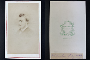 Cooke, Keighley, Charles Sidgwick Vintage cdv albumen print Tirage albuminé