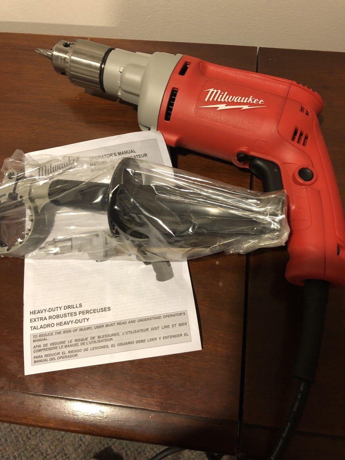Milwaukee 1 2  Corded Magnum Drill 0300-20