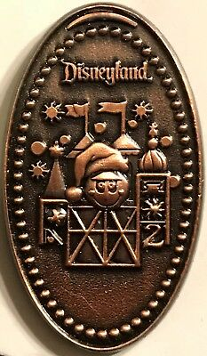 Small World Christmas LE 250 Disney Pin WDI Pressed Penny Mystery Pin