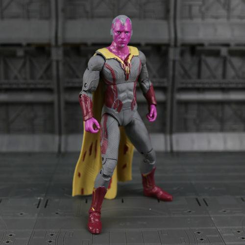 Marvel Legends Avengers Vision Scarlet Witch Spouse PVC Action Figure 2pcs//set