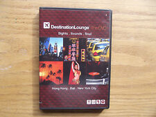 Destination Lounge The Dvd / Hong Kong - Bali - New York City