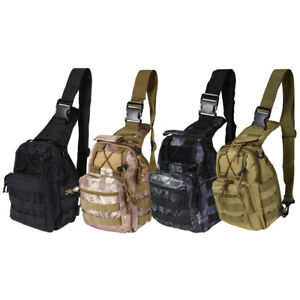 Tactical-Chest-Bag-Backpack-Outdoor-Shoulder-Military-Travel-Camping-Hiking-Bags