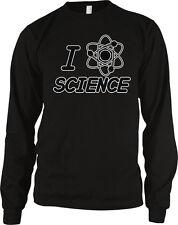 I Love Science Molecule Atom Chemistry Physics Geek Nerd Lab /<3 Men/'s Thermal