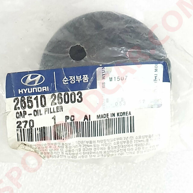 Engine Oil Filler Cap for Hyundai 1997-2001 Tiburon Accent Elantra OEM Parts