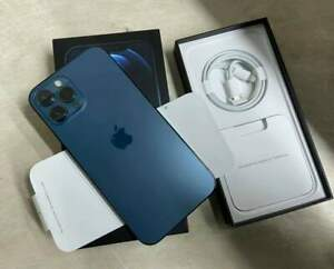 Good As New! Apple iPhone 12 Pro Max 256GB Blue - Factory Unlocked, Complete