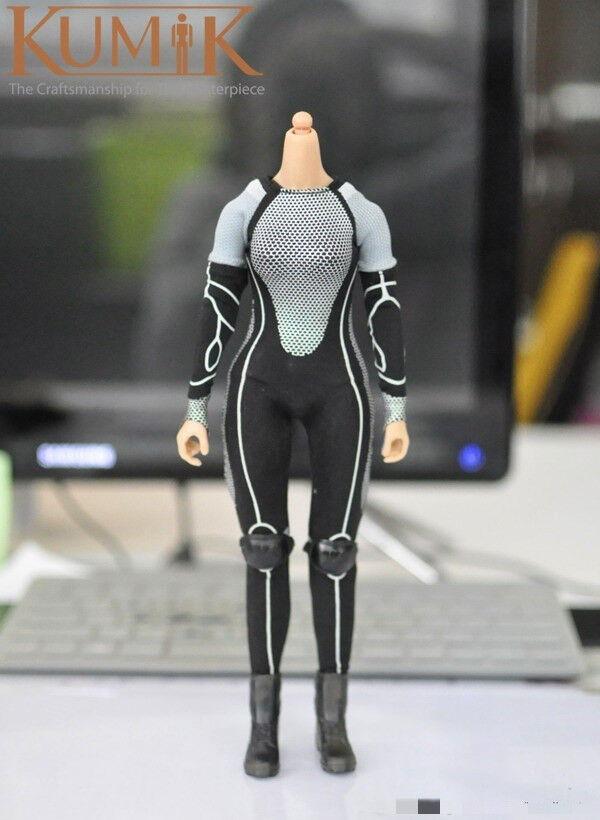 KUMIK Katniss Egreenen Body & Hunting Jumpsuit Jumpsuit Jumpsuit Clothing Sets 1 6 Figure No Head 20240e
