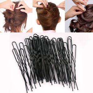 50-pcs-Fashion-Women-U-Shape-Hair-Bun-Stick-Bobby-Pins-Clip-Barrette-Hairpin