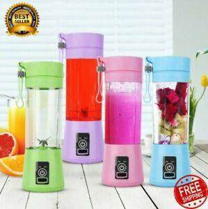 380ml One Portable Personal Blender Juicer Mix Blend Rechargeable Jet Cordless