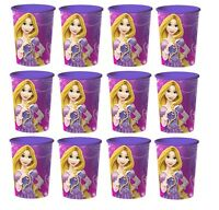 Disney Tangled Rapunzel Lot Of 12 16oz Party Plastic Cup Party Favor Supplies