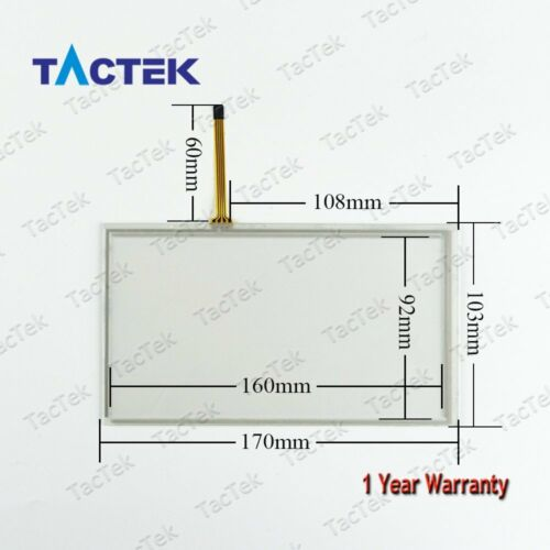 Touch Screen Panel Glass Digitizer TP-4333S1 TP4333S1 TP-4333 S1 with Overlay