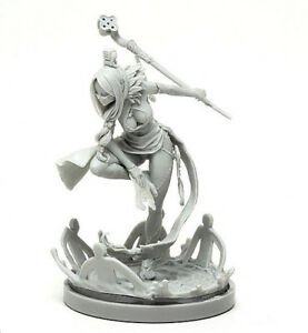 30mm-Resin-Kingdom-Death-Mage-Unpainted-Unbuild-WH064