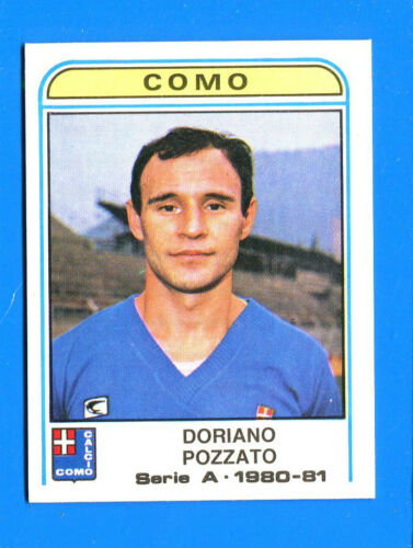 POZZATO COMO -New 150 CALCIATORI PANINI 1980-81 Figurina-Sticker n