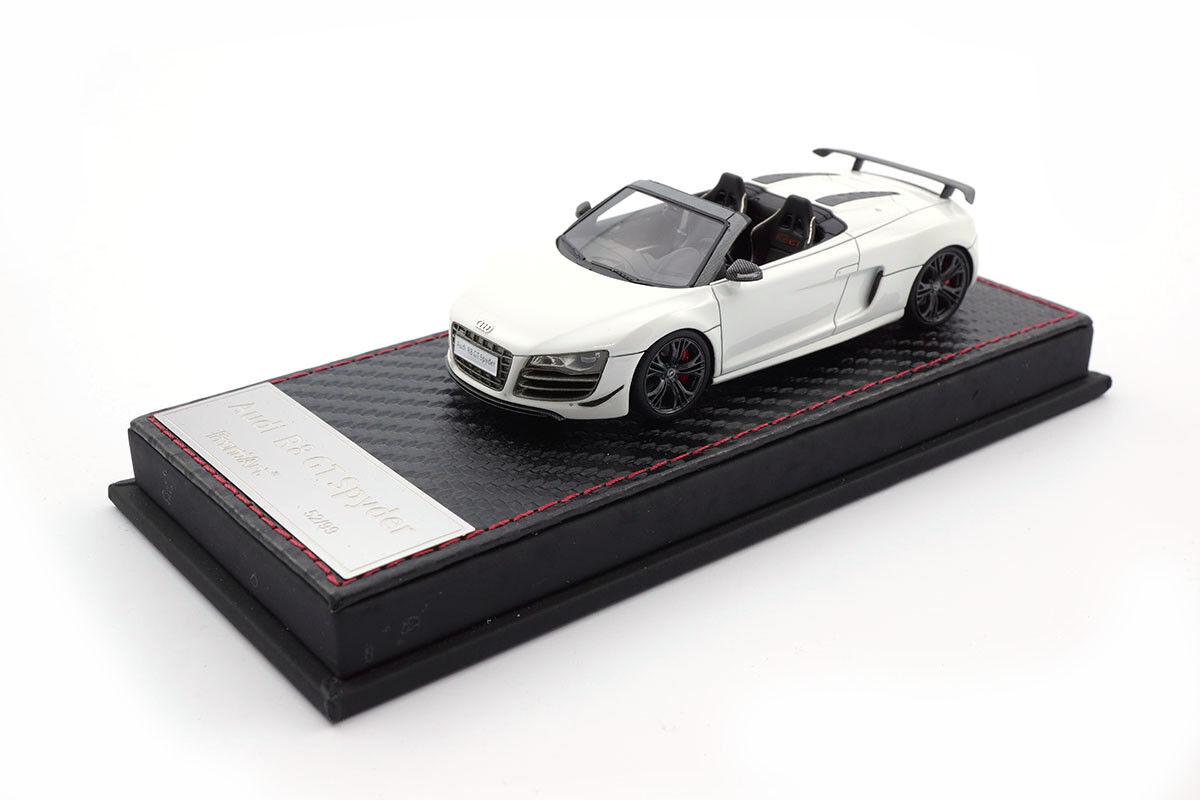 f036-02 - frontiart Audi r8 gt Spyder-blanc - 1 43