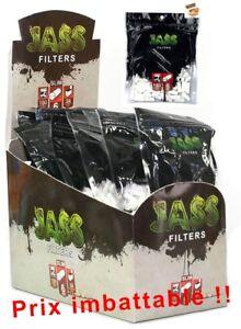 Lot-Filtres-a-cigarette-Jass-6MM-pour-Feuille-a-rouler-Lot-de-1-a-100-sachets