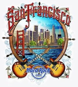 Hard-Rock-Cafe-SAN-FRANCISCO-2016-City-Tee-White-T-SHIRT-2X-XXL-Men-039-s-New-Tags