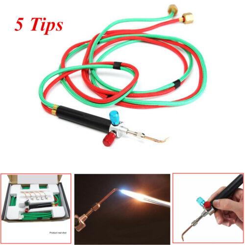 Jewelry Jewelers Micro Mini Gas Little Torch Welding Soldering Repair Kit 5 tips
