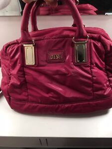 Diesel-Hot-Pink-Shoulder-Bag-Used-Just-Once-Clean