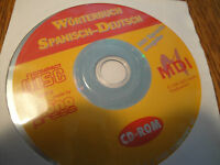 CD Spanisch-Deutsch Wörterbuch