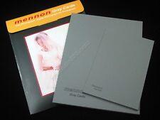 """Mennon 18% Gray card set 10x8"""" 8x6"""" 2 pcs for White balance exposure"""
