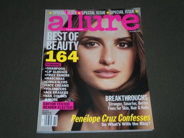 2003 OCTOBER ALLURE MAGAZINE