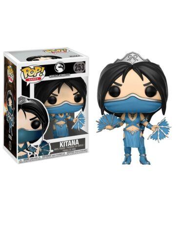Kitana POP Figura in vinile 253 Mortal Kombat X Nuovo e Sigillato