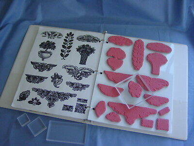 ACRYLIC /& UNMOUNTED STAMP STORAGE 5 SHEETS  Fed up and not sure how to mount you