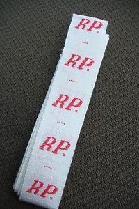 R-P-Buchstaben-band-mit-Buchstaben-fuer-Namenschilder-034-Monogramm-034-haltbar