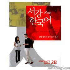 Sogang Korean 2B Student's Book With CD Korean Language Book Conversation BO52