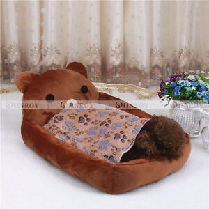 Dogs-Cats-Pet-Blanket-Warm-Dog-Bed-Mat-Cover-Fleece-Towel-Paw-Print-Beds