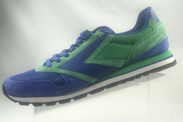 ba27d559f92 BROOKS CHARIOT Men s Blue green Runing Sneaker Shoes 1101781D477 Sz US 12  EUR 46