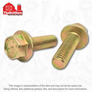 Frame bolt 50 Cap Screws 7//16x1-1//2 7//16-14x1-1//2 Grade 8 Hex Head Flange