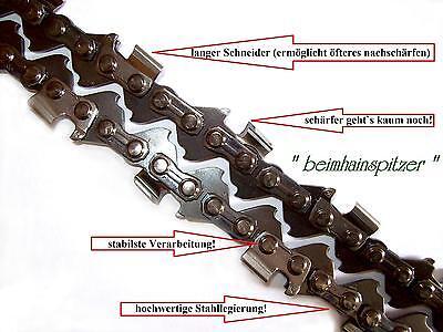 """Sägekette passend für Dolmar 115i 40 cm 325/"""" 66 TG 1,3 mm Halbmeißel chain"""