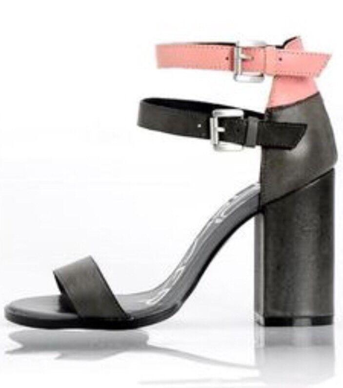 NEW Kelsi Dagger Gin Double Strap Sandales Heels Größe 7.5