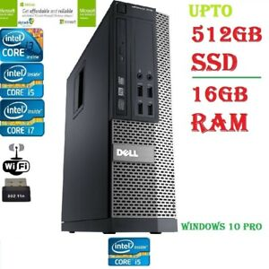 Dell-Optiplex-Sff-Core-i3-i5-i7-16GB-2TB-HDD-512GB-SSD-escritorio-de-Windows-10-PC-WIFI