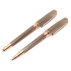 Jos Von Arx - Prestige Grey With Rose Gold Pen Gift Set In Presentation Gift Box 4galllpj-07222115-759361225
