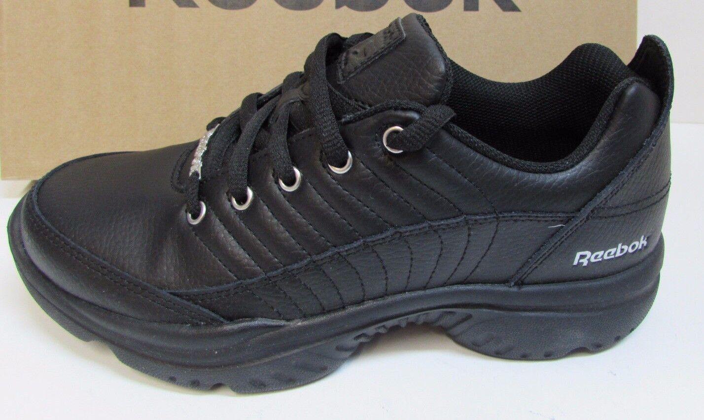 Reebok Size 7 Black Ortholite Sneakers New Womens Shoes