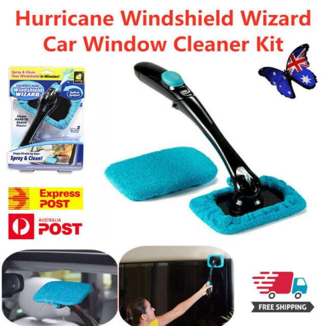 Hurricane Windshield Wizard Car Window Cleaner Kit - Windscreen Glass Reusable#