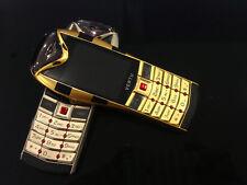 Luxury Cobra Snake Silver Metal 2 Two Dual Sim Slot GSM Mobile Designer Phone