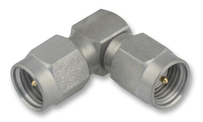 Connectors - RF/Coaxial - ADAPTOR SMA PLUG SMA PLUG RIGHT ANGLE