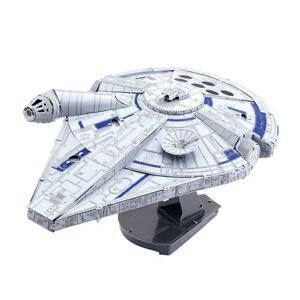 Metal-Earth-ICONX-Star-Wars-Lando-039-s-Millennium-Falcon-Laser-Cut-DIY-Model-Kit