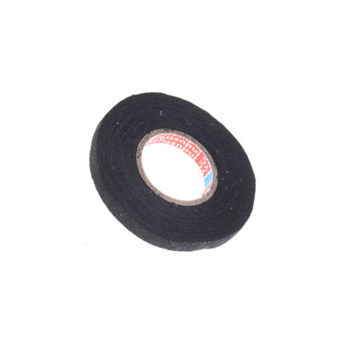 Heat-resistant 9mmx15m Adhesive Fabric Cloth Tape Car Cable Harness Wiring T  P*